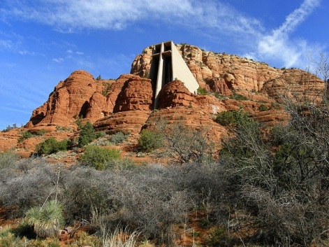 chapel of the holy cross, sedona 1
