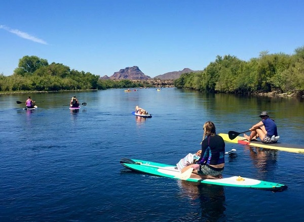 Stand Up Paddleboarding In The Phoenix Area Yes Heres Where